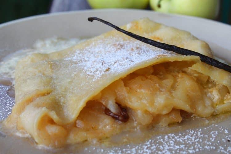 Bayerischer Apfelstrudel - die frau am grill