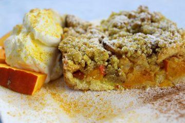 Apfel-Kürbis Kuchen