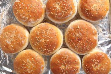 Burger Brötchen Rezept zum selber machen - deposit