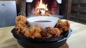 Crispy Chicken-Rezept-Art of BBQ-Die Frau am Grill-web