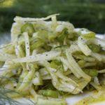 Fenchelsalat - die frau am grill