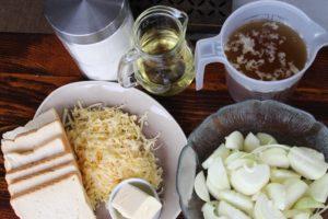 Französische Zwiebelsuppe-Zutaten-Die frau am grill-web