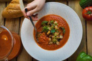 Gazpacho - chefsstuff - die frau am grill