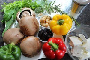 Gefüllte Champignons-Zutaten-die frau am grill-web