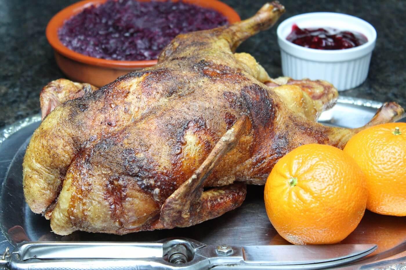 Geräucherte Ente Rezept - die frau am grill