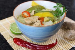 Hähnchen Curry - die frau am grill