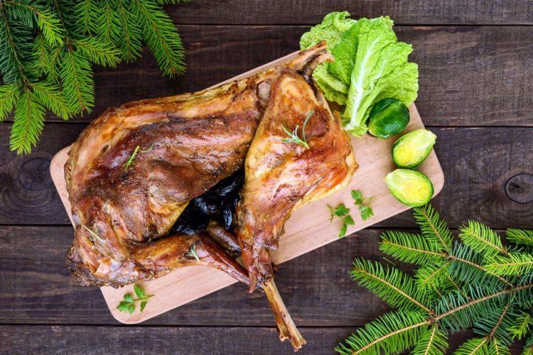Kaninchen braten - Rezept - Die Frau am Grill