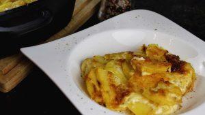 Cremiger Kartoffelauflauf
