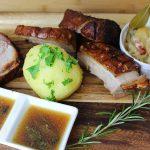 Krustenbraten Rezept-die frau am grill