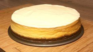 New York Cheesecake Rezept-Kuchenbild-Norbert Babeo-Die Frau am Grill