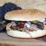 Pulled Beef Ribs Burger