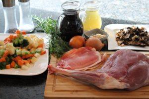 Rehbraten - Rehkeule - Rezept - Zutaten - die frau am grill