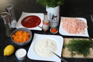 Shrimps Cocktail Zutaten - die frau am grill