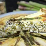 Quiche Rezept-Spargel-Bärlauch-Die Frau am Grill