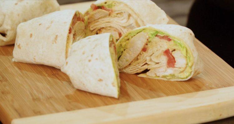 Chicken Wrap-Die Frau am Grill-Juana Hubl