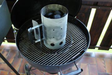 anzuendkamin richtig starten - briketts - die frau am grill