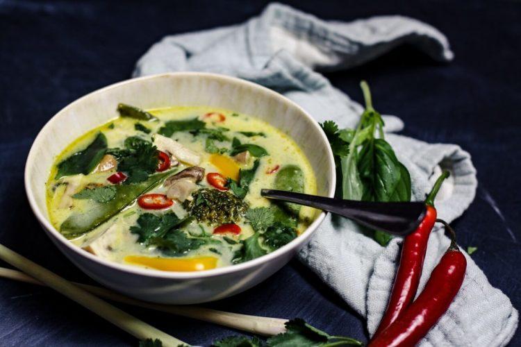 asiatische suppe - rezept - die frau am grill