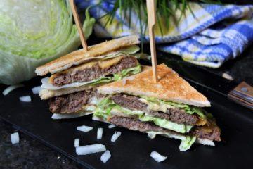 big mac sandwich - rezept - die frau am grill