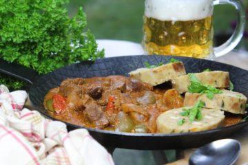 brauhaus gulasch rezept - die frau am grill
