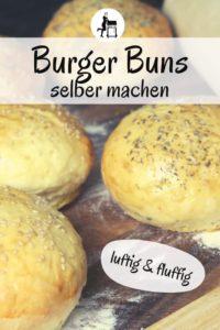 burger buns selber machen rezept pinterest - die frau am grill
