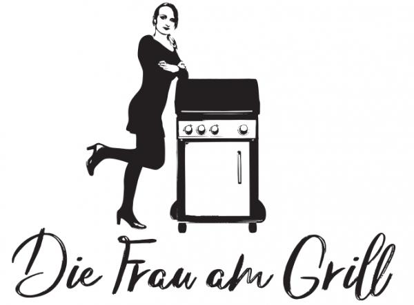 Die Frau am Grill