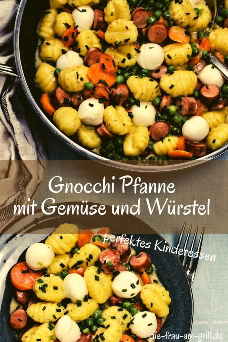 gnocchi pfanne mit gemuese - pinterest - die frau am grill
