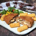 hackfleisch cordon bleu - rezept - die frau am grill