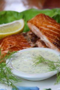 honig senf sauce hochkant - die frau am grill