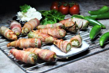 jalapeno poppers mit frischkäse - die frau am grill