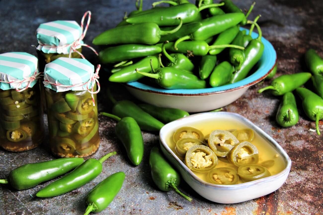 jalapenos einlegen - rezept - die frau am grill