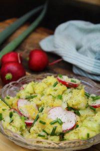 kartoffelsalat mit radieschen rezept - die frau am grill