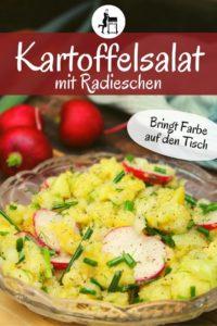 kartoffelsalat mit radieschen rezept pinterest - die frau am grill