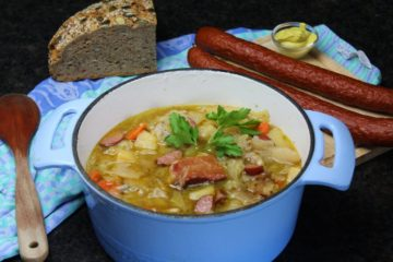 kohlsuppe rezept - die frau am grill