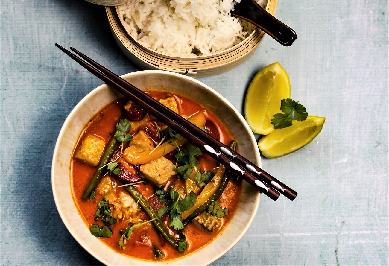lachs curry rezept - die frau am grill