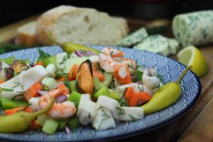 mediterrane rezepte - die frau am grill