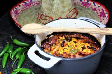 mexikanisches schichtfleisch rezept - die frau am grill