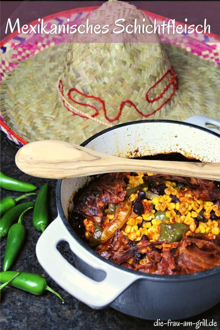 mexikanisches schichtfleisch rezept- die frau am grill - pinterest