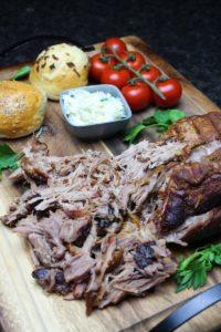 pulled pork aus dem backofen - die frau am grill