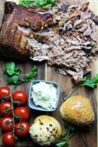 pulled pork im backofen rezept - die frau am grill