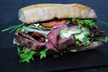 roastbeef sandwich rezept - die frau am grill