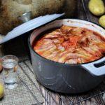 russisches schichtfleisch rezept - die frau am grill