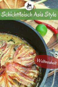 schichtfleisch asia style rezept pinterest - die frau am grill