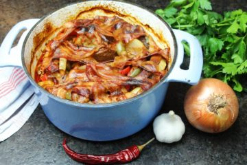 schichtfleisch im backofen rezept - die frau am grill