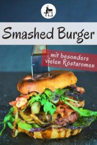 smashed burger pinterest - die frau am grill