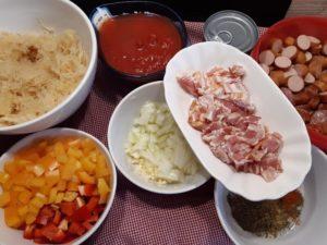 zutaten für sauerkrautsuppe - michael korsikowski - die frau am grill